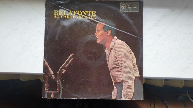 Belafonte at Carnegie Hall winyl