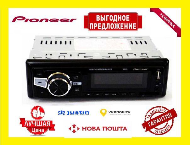 Автомагнитола Пионер 1270 ISO (USB+SD+FM+AUX+пульт (4x50W)