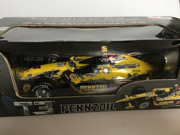 Model 1:18 Sam Hornish Jr. #4 Pennzoil 2003 Dallara Action