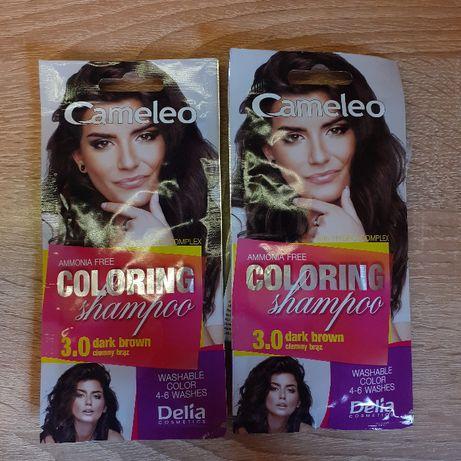NOWY Szmpon koloryzujący Cameleo ciemny brąz 3.0