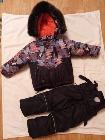 Зимова куртка та штани для хлопчика