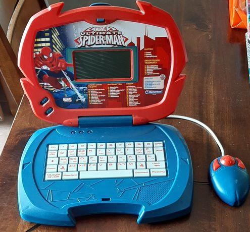 Laptop edukacyjny Spider Man z myszką