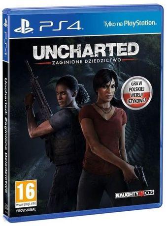 Gra Uncharted : Zaginione Dziedzictwo PS4 PL