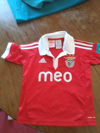 Tshirt/camisola Benfica criança 4/5 anos