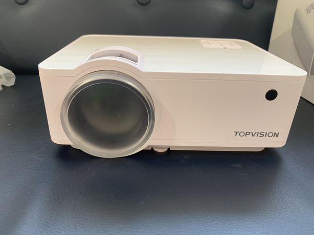 Новий Проектор Topvision T6 led projector