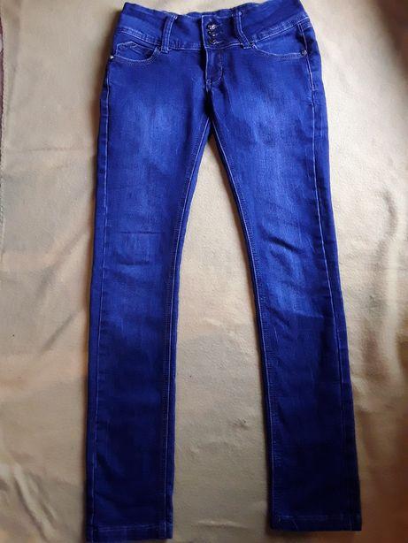 Spodnie, biodrówki, dżinsy, rurki. Jak nowe !!!