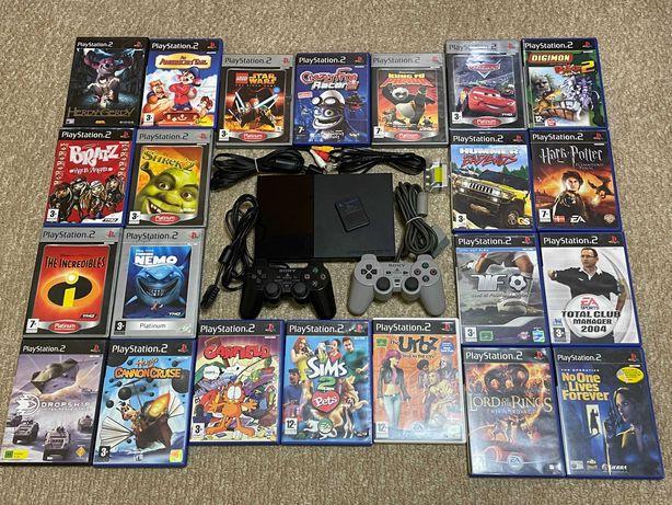 Sony PlayStation 2 + Игры (Лицензия)