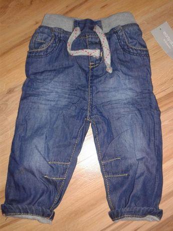 Spodnie 3-6 mies., 68 cm, dzinsy