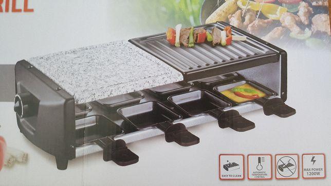 Grill elektryczny w sam raz na kwarantannę do raclette