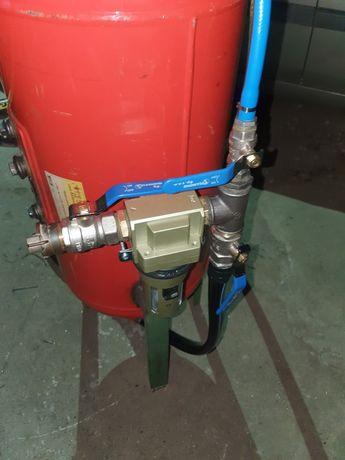 Piaskarka  syfonowa 70 litrów  dysza   waż  filter kompletna