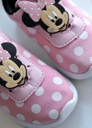 Sneakersy Minnie Primark UK6/EUR 23 (12,5cm) rezerw do Środy