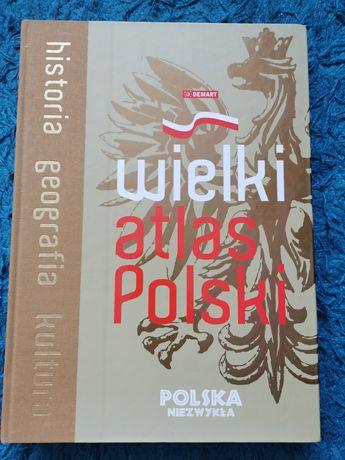 Wielki Atlas Polski - 400 stron