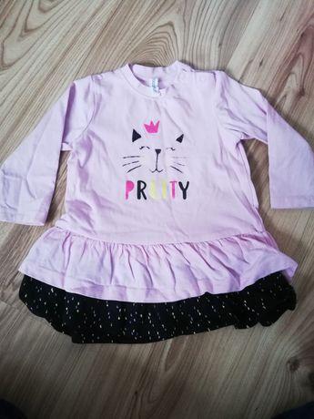 Sukienka coccodrillo roz. 68