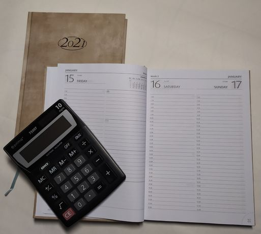 Ежедневник датированный на английском языке, Германия