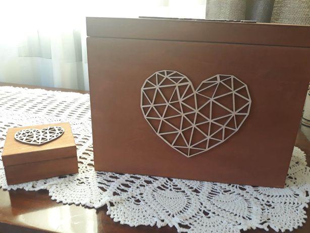 Pudełka na koperty i obrączki