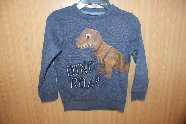 Свитшот кофта свитер на 4-5 лет динозавр