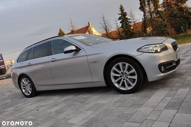 BMW Seria 5 BMW Seria 5 F10 F11 lift 2013R DIESEL 3.0 MOC 258km za 45 000zł