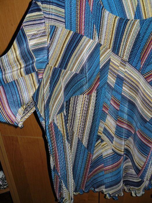 Bluzki 44 46 XL Plisowana Zwiewna Print Nowe UK Cudne Chojnice - image 1