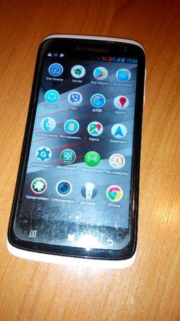 телефон Lenovo s820 + силиконовый чехол