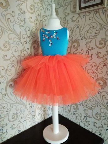 Платье нарядное, сукня, квітка цветочек, утренник, выпускной