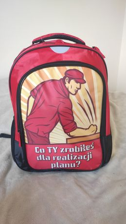 Nowy plecak szkolny