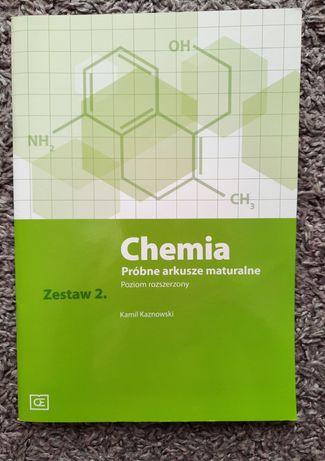 Chemia. Kaznowski arkusze-zestaw 2