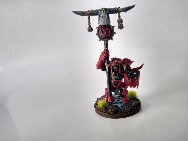 Malowanie modeli Warhammer, gry planszowe