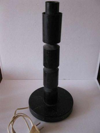 настольная лампа производства СССР с плафоном