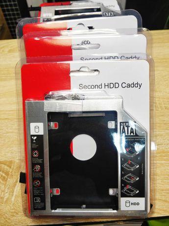 Карман, Optibay, HDD Caddy 12 и 9,5мм