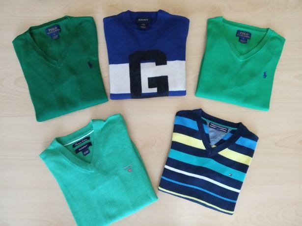 Camisolas Gant Tommy Ralph Lauren 5 anos