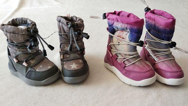 Buty śniegowce zimowe wodoodporne roz.20 Lupilu Nowe 13 cm