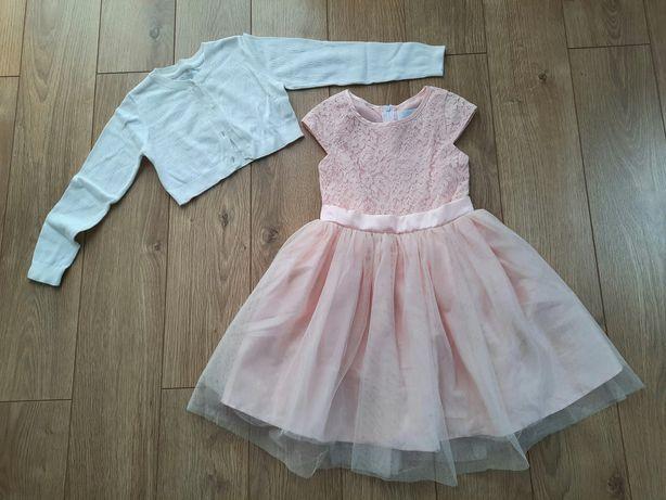 Ubrania dla dziewczynki rozm. 128