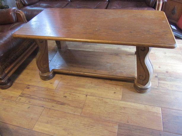 ława dębowa z litego drewna