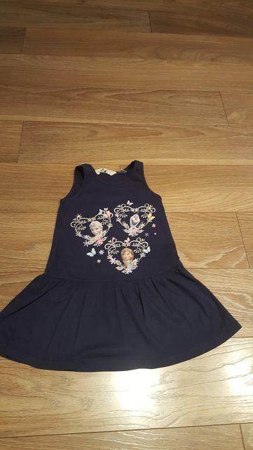 Sukienka dla dziewczynki roz 98-104 H&M