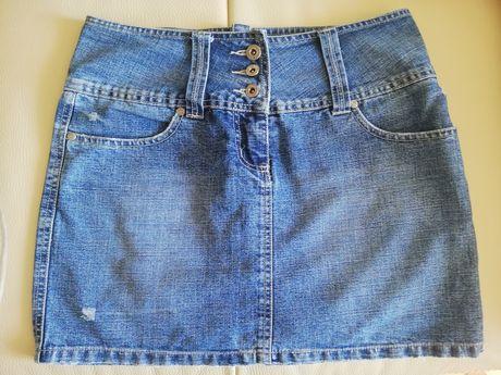 Jeansowa spódnica 36