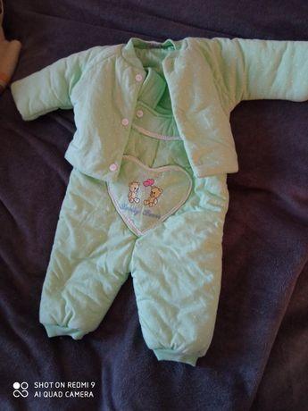 Теплий костюмчик для малюка