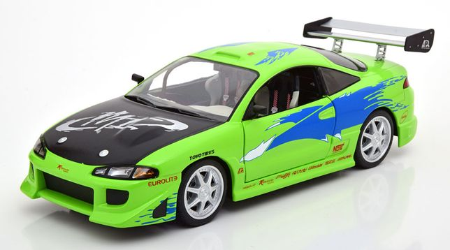 Model 1:18 Greenlight Mitsubishi Eclipse F&F 1995