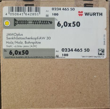 WURTH Śruba montażowa dystansowa 6,0x50