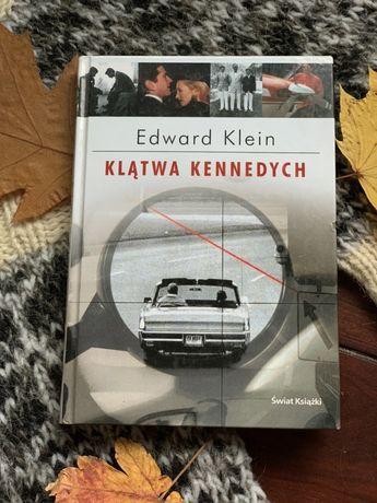 """""""Klątwa Kennedych"""" Edward Klein- stan bdb-"""