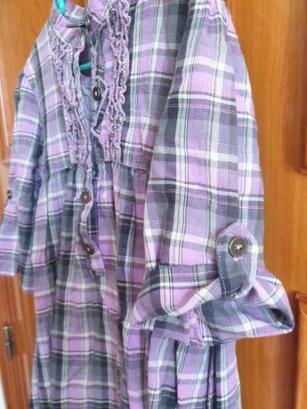 Vestido da marca Zara 5-6 anos usado em bom estado