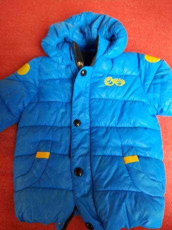 Демісезонна куртка-унісекс на 3-4р