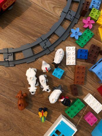Набор деталей Lego duplo + Lego поезд