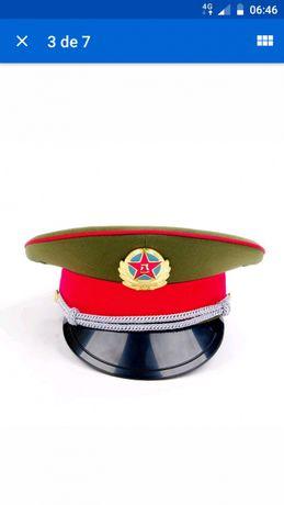 Chapeu de oficial do exército da República Popular da China