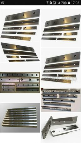 заточка, шлифовка всех типов ножей до 6000 мм