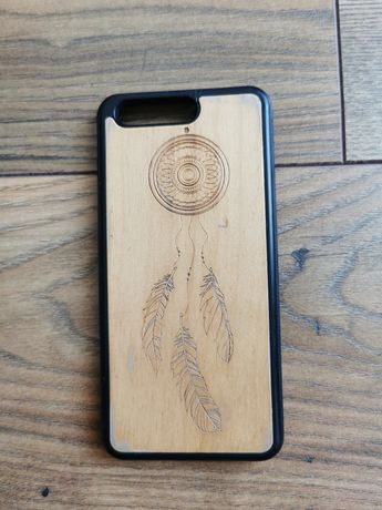 Pokrowiec drewniany na telefon Huawei P10
