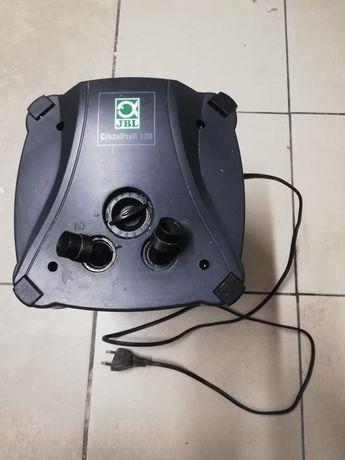Filtr zewnętrzny akwariowy akwarystyczny jbl cp-120 650l/h