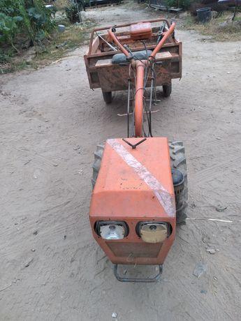 Motocultivador motor lsmbordin