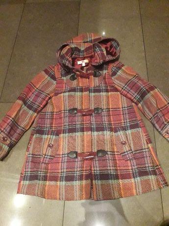 płaszczyk dla dziewczynki wiosna/jesień - rozmiar 122