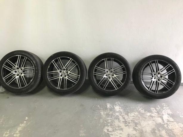 Jantes AEZ 5 x 112 20 polegadas MERCEDES AUDi VW com pneus