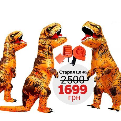 Надувний костюм динозавра T-REX / Надувной костюм динозавра T-REX
